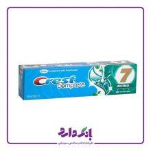 خمیر دندان کرست سری Complete 7 مدل Extreme Mint حجم ۱۰۰ میلی لیتر