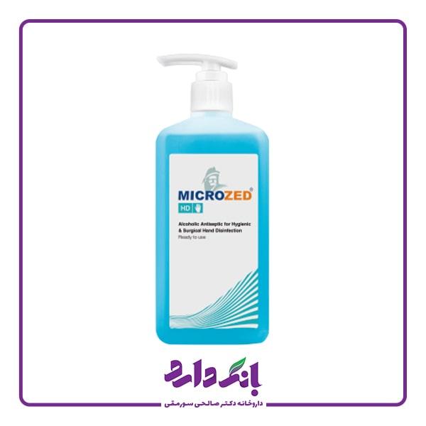 خرید محلول ضد عفونی کننده میکروزد حجم 1 لیتری