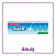 خمیر دندان اورال بی مدل ۱٫۲٫۳ حجم ۱۰۰ میلی لیتر
