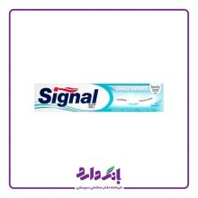 خمیر دندان سیگنال مدل Daily White حجم ۱۰۰ میلی لیتر