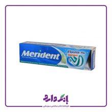 خمیر دندان ژله ای دو رنگ با طعم نعنا ۱۳۰ گرمی مریدنت