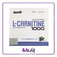 ویال خوراکی ال کارنیتین ۱۰۰۰ بلوبری ۱۰ عددی