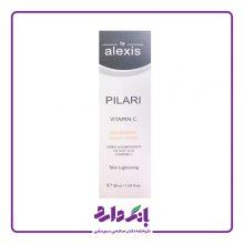 کرم روشن کننده الکسیس مدل PILARI NOURISHING NIGHT CREAM حاوی ویتامین C حجم ۳۰ میلی لیتر