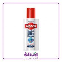 شامپو ضد شوره قوی آلپسین مدل Dandruff Killer Shampoo حجم ۲۵۰ میلی لیتر