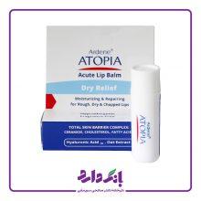 استیک مرطوب کننده و ترمیم کننده لب آردن سری ATOPIA مدل Dry Relief وزن ۴.۵ گرم