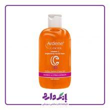 تونر پاک کننده پوست صورت آردن سری C-Factor مدل ۳ B حاوی ویتامین C حجم ۲۵۰ میلی لیتر