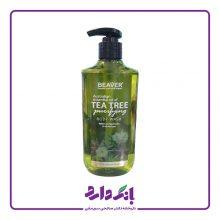 شامپو بدن بیور حاوی عصاره درخت چای در حجم ۳۵۰ میلی لیتر