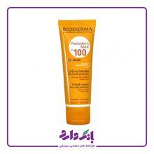 کرم ضد آفتاب رنگی بایودرما SPF100 مدل Photoderm MAX100 مناسب پوست های معمولی تا خشک حجم ۴۰ میلی لیتر
