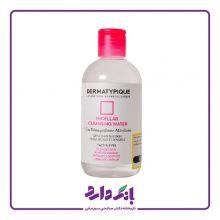 محلول پاک کننده آرایش پوست خشک و حساس درماتیپیک حجم ۲۵۰ میلی لیتر