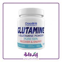 مکمل ورزشی گلوتامین دوبیس DooBis وزن ۳۰۰ گرم