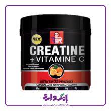 مکمل ورزشی کراتین و ویتامین FBR C وزن ۴۰۰ گرم