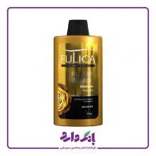 شامپو تثبیت کننده رنگ مو فولیکا سری Color Boost مدل Flashy Blonde مخصوص موهای بلوند حجم ۴۰۰ میلی لیتر