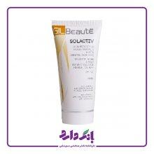 کرم ضد آفتاب مینرال سل اکتیو بی رنگ SPF40 ژیل بوته مناسب پوست های چرب حجم ۵۰ میلی لیتر