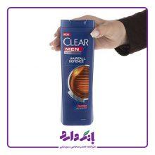 شامپو ضد شوره مردانه کلیر مدل Hairfall Defense حجم ۴۰۰ میلی لیتر