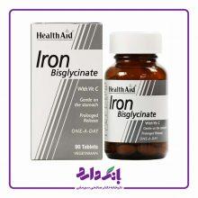 قرص آهن+ویتامین ث هلث اید ۳۰ عددی