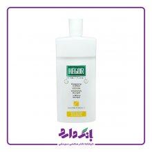 شامپو تقویت کننده کراتین هگور مناسب موهای نازک، شکننده و آسیب دیده حجم ۵۰۰ میلی لیتر