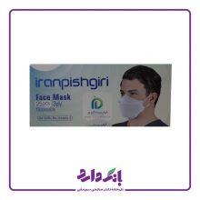 ماسک ۳ لایه فست مدل ۳M ایران پیشگیری در چهار رنگ بسته ۲۵ عددی