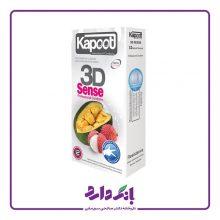 کاندوم سه بعدی کاپوت مدل ۳D Sense بسته ۱۲ عددی