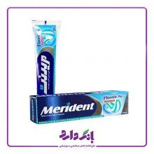 خمیر دندان ژله ای دو رنگ با طعم نعنا مریدنت ۱۳۰ گرمی