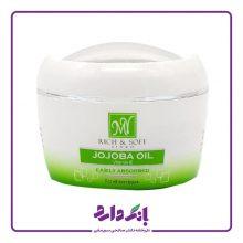 کرم کاسه ای نرم کننده دست و صورت جوجوبا مای سری Rich & Soft مدل JOJOBA OIL مناسب انواع پوست حجم ۱۵۰ میلی لیتر