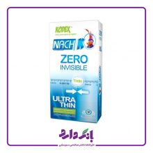 کاندوم ناچ کدکس مدل Zero Invisible بسته ۱۲ عددی
