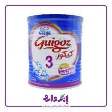 شیرخشک گیگوز ۳ نستله مخصوص شیرخوارگان از ۱۲ ماهگی به بعد وزن ۴۰۰ گرم