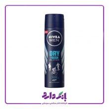 اسپری ضد تعریق مردانه مدل Dry Fresh نیوا حجم ۱۵۰ میلی لیتر