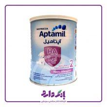 شیرخشک آپتامیل اچ۲ (HA2) نوتریشیا مخصوص شیرخوارگان از ۶ تا ۱۲ ماهگی وزن ۴۰۰ گرم