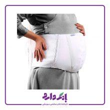شکم بند دوران بارداری پاک سمن مدل Pregnancy Corset کد ۰۱۶ رنگ سفید در ۵ سایز بسته تک عددی