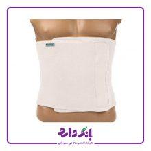 شکم بند لاغری پاک سمن مدل Slimming Belt کد ۰۱۷ رنگ سفید در ۶ سایز بسته تک عددی