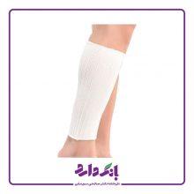 ساق بند زانو بند طبی کبریتی پاک سمن مدل Shin Support کد ۰۳۸ رنگ سفید فری سایز بسته دو عددی