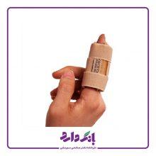 آتل انگشت پاک سمن مدل Finger Splint کد ۰۵۴ رنگ کرم فری سایز بسته تک عددی