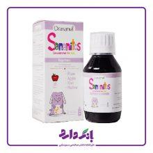 شربت سانانیتوس یبوست برای کودکان دراسانوی در طعم سیب حجم ۱۳۰ میلی لیتر