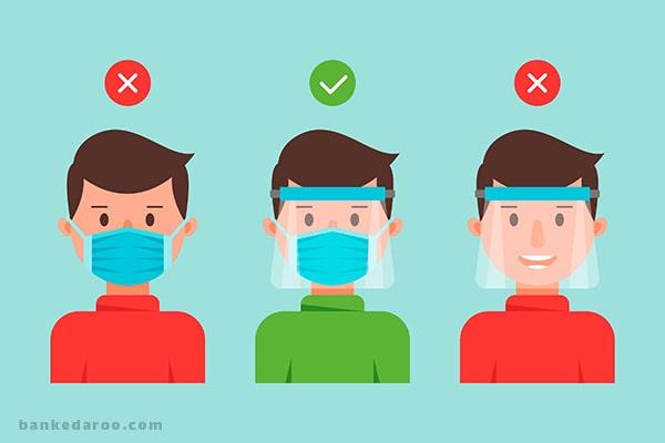 شیلد محافظ صورت   قیمت شیلد   خرید شیلد   انواع شیلد ضد ویروس