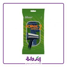 خودتراش سیلور مدل Normal 2 Sensitive بسته ۵ عددی