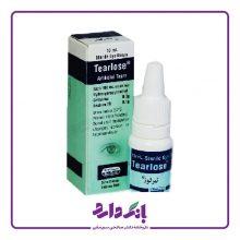 اشک مصنوعی قطره استریل چشمی تیرلوز سینا دارو حجم ۱۰ میلی لیتر