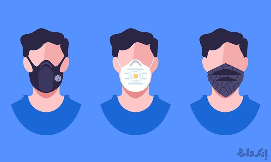 انواع ماسک تنفسی | بهترین ماسک تنفسی بهداشتی | ماسک تنفسی استاندارد